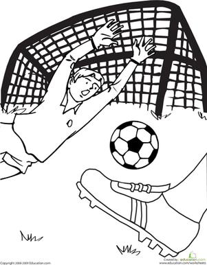 301x386 Soccer Game Coloring Page Soccer Games, Worksheets And Gaming