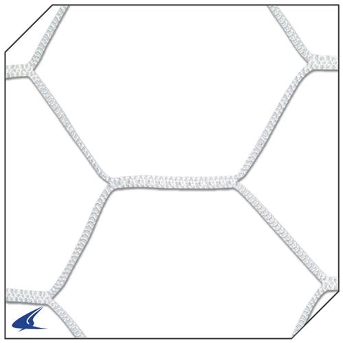 500x500 Champro Braided Soccer Goal Net 4.0 Mm Hexagon Pattern (White Only