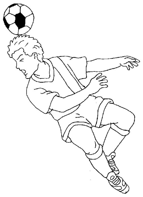 Soccer Players Drawing