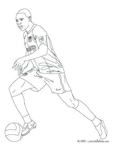 364x470 Football Player Coloring Page Playing Soccer Playing Soccer