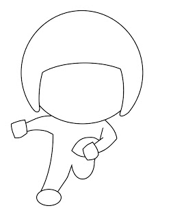 253x320 How To Draw Cartoons Football Player