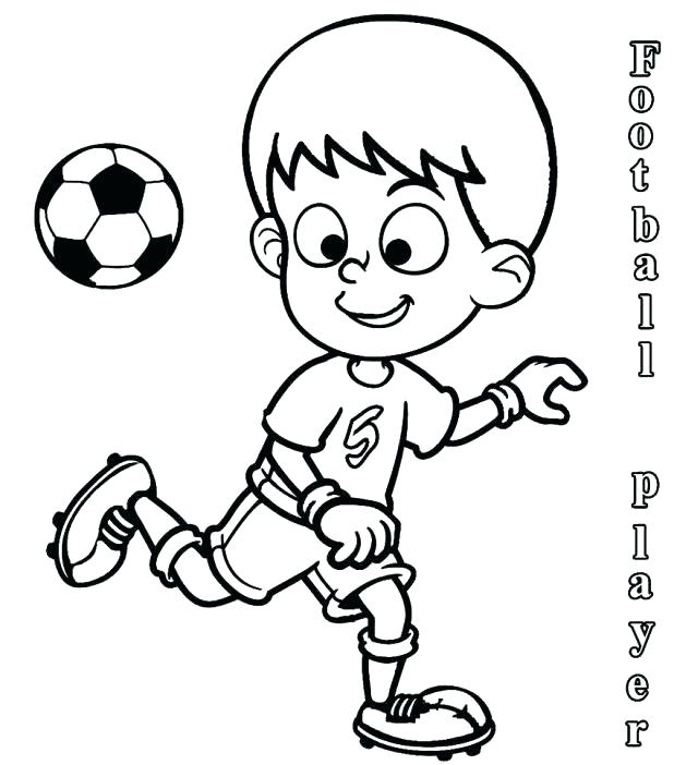 618x702 How To Draw College Football Players Team Coloring Sheets
