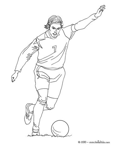 364x470 Soccer Player Coloring Pages Printable For Snazzy Draw Paint