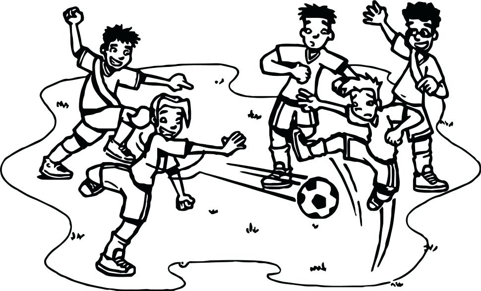 970x587 Soccer Players Coloring Pages Large Size Of Coloring Pages Soccer