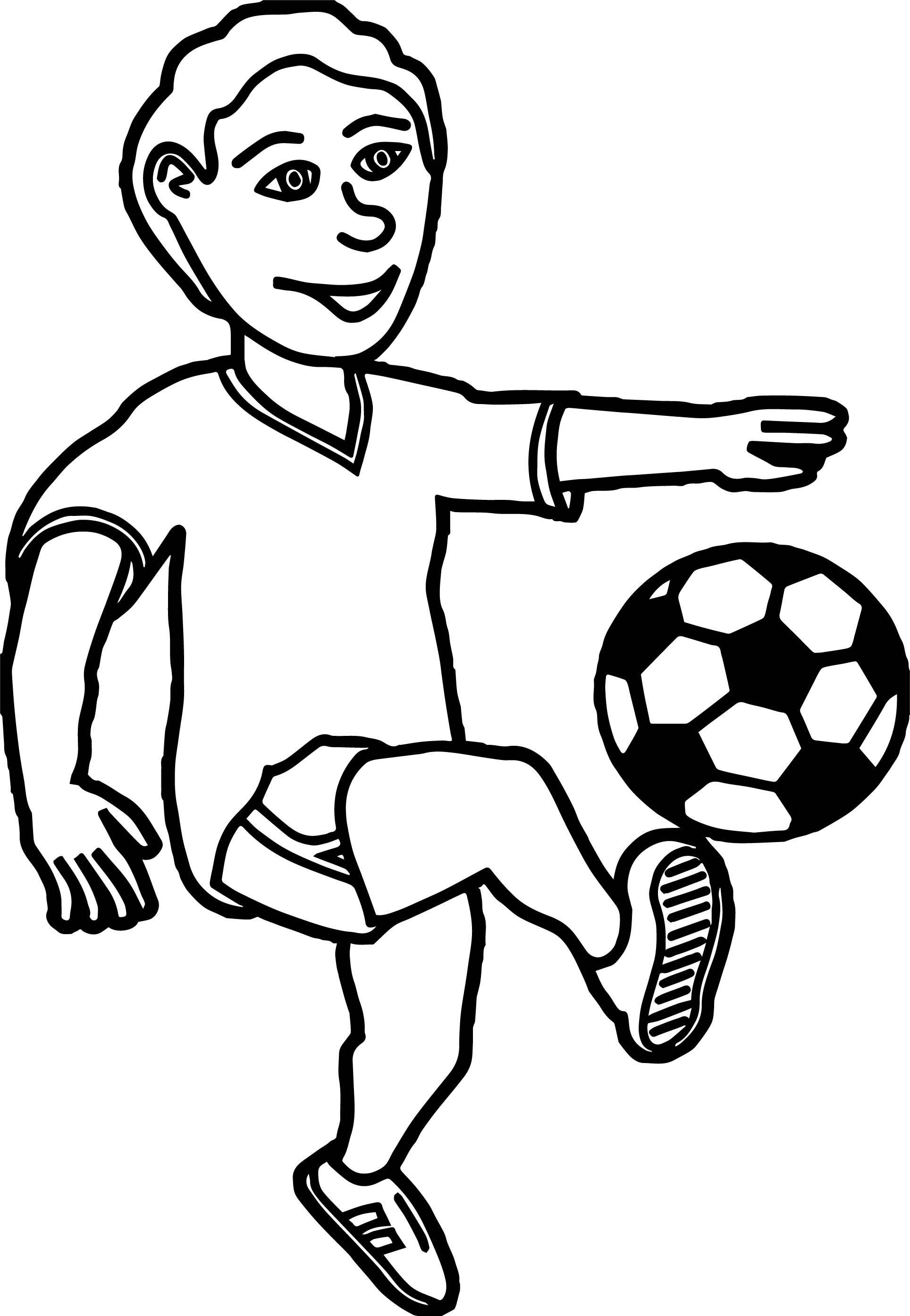 1928x2788 Soccer Playing Football Children Coloring Page Wecoloringpage