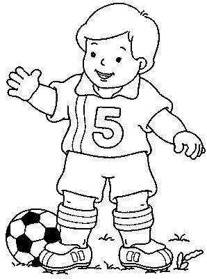 298x400 Transmissionpress Soccer Player Kids Coloring Pages