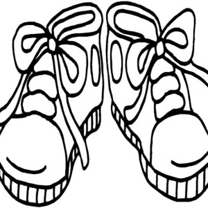 300x300 Soccer Shoes Coloring Page Soccer Shoes Coloring Page Coloring Sky