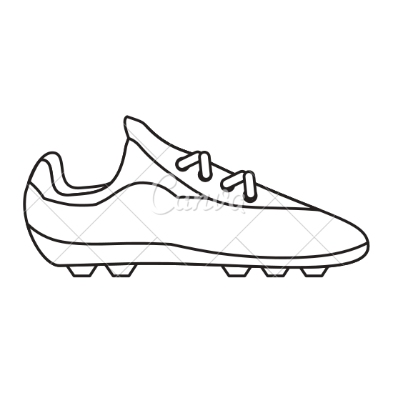 550x550 Soccer Shoes Footwear Icon