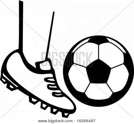 450x414 Soccer Cleats Sketch