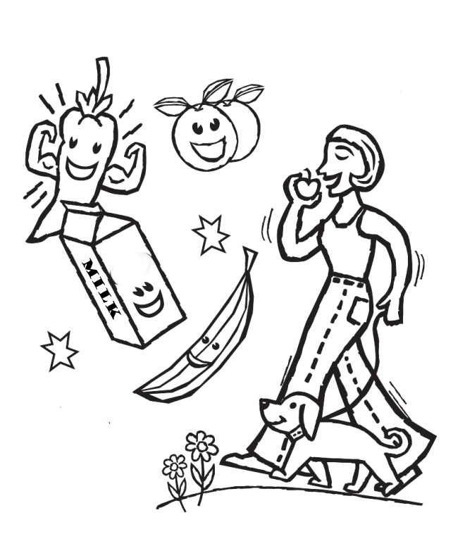 660x775 Health Coloring Pages Give The Best Coloring Pages
