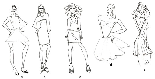 535x273 How To Draw Gorgeous Fashion Gowns