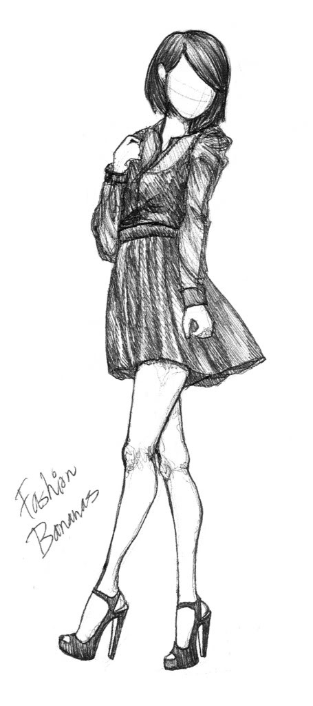 455x1024 26 Best Dessin Mannequin Images On Fashion