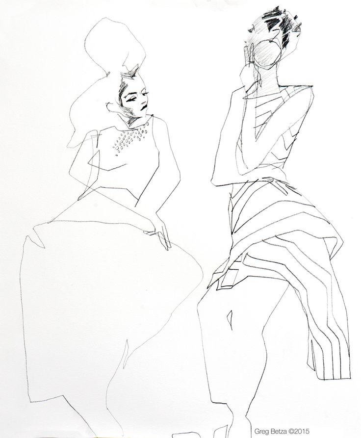 Society Drawing