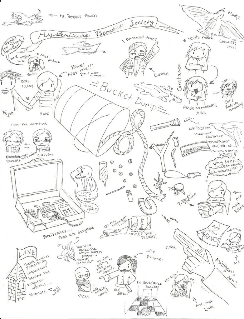 782x1021 Mysterious Benedict Society Sketch Dump By Theredbucket