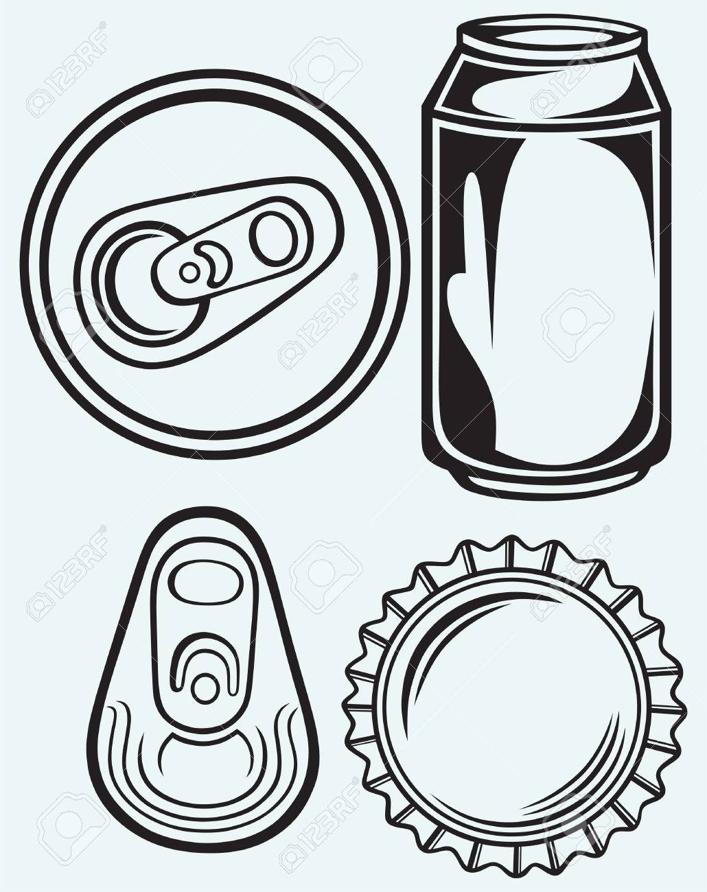 Soda Can Drawing