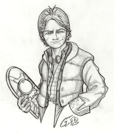 401x470 Marty Mcfly By Gundamjack Back To The Future Marty