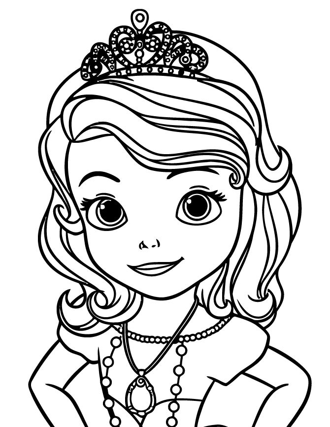 670x867 14 sofia the first coloring pages for kids print color craft