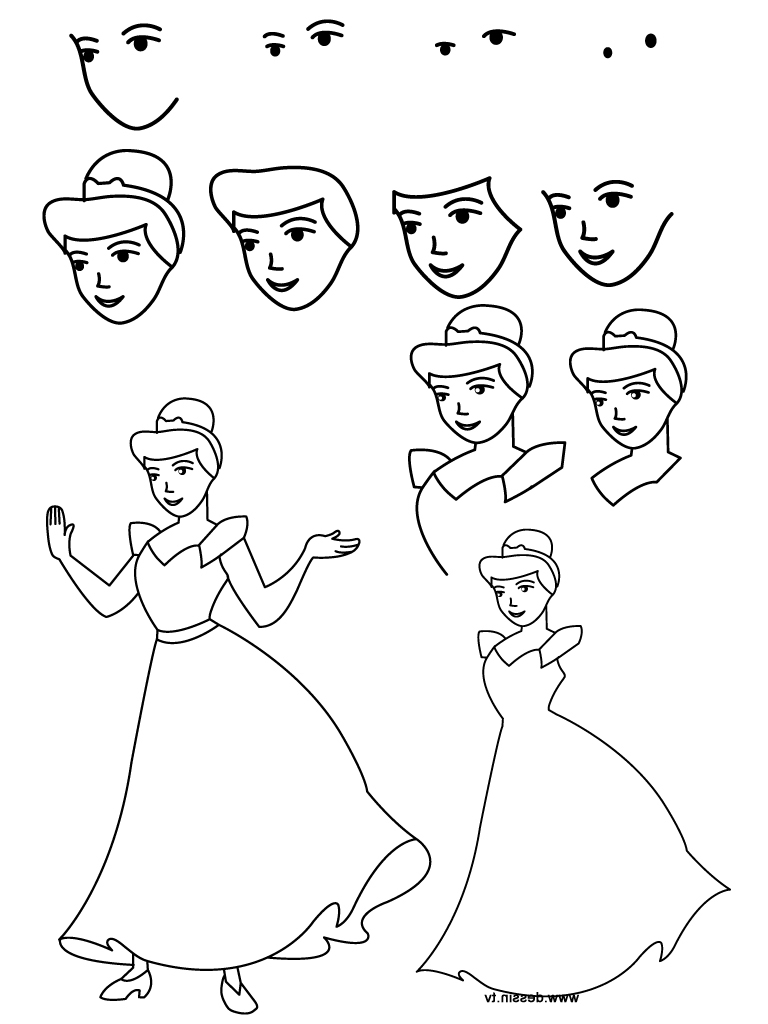 768x1024 How To Draw Sofia From Sofia The First Easy Step By Step Drawing