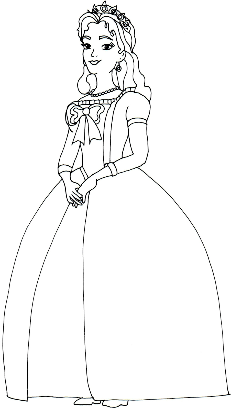 Sofia The First Drawing