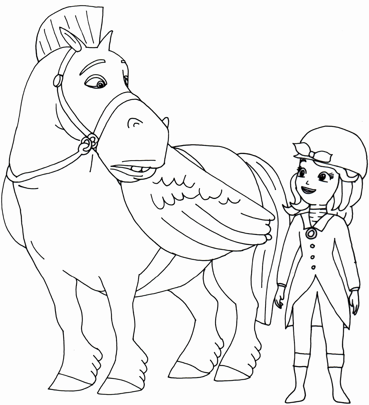 1458x1600 Princess Sofia Coloring Pages Beautiful Free Sofia The First
