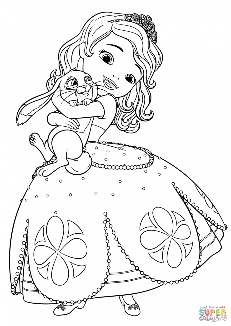 970x1372 Printable Sofia The First Coloring Pages Printable Sofia The First