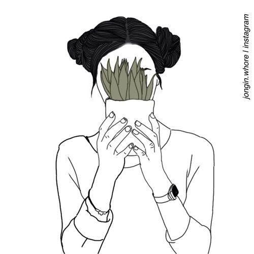500x500 Aesthetic, Drawing, Grunge, Pale, Plants, Rad, Soft Grunge, Tumblr
