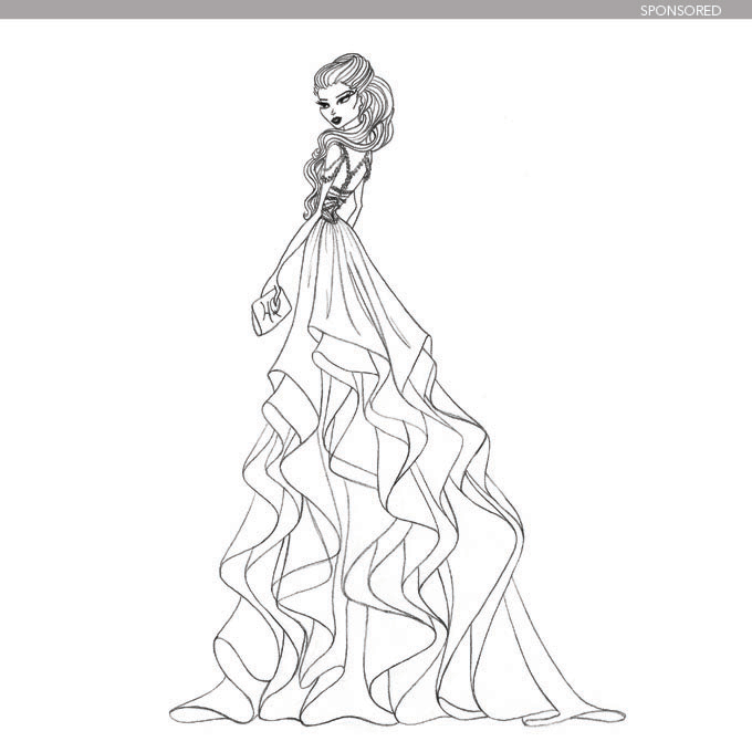 680x680 Designer Wedding Dress Sketches Behind The Scenes Wedding Dress