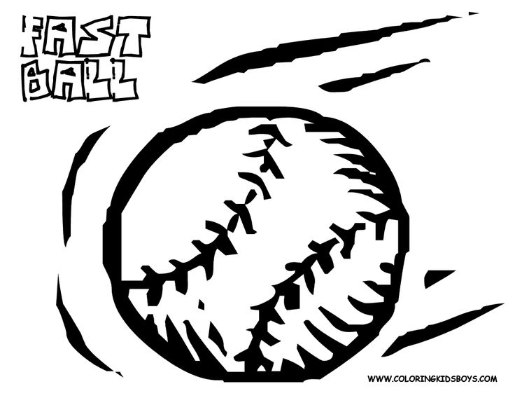Softball Balks And Bat Drawing