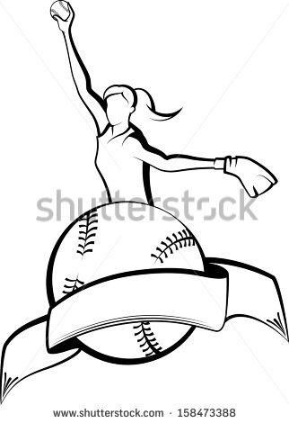322x470 Drawn Ball Softball