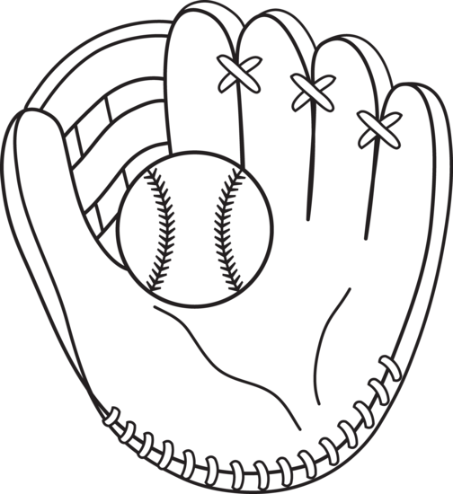 504x550 Baseball Coloring Page To Use With Casey