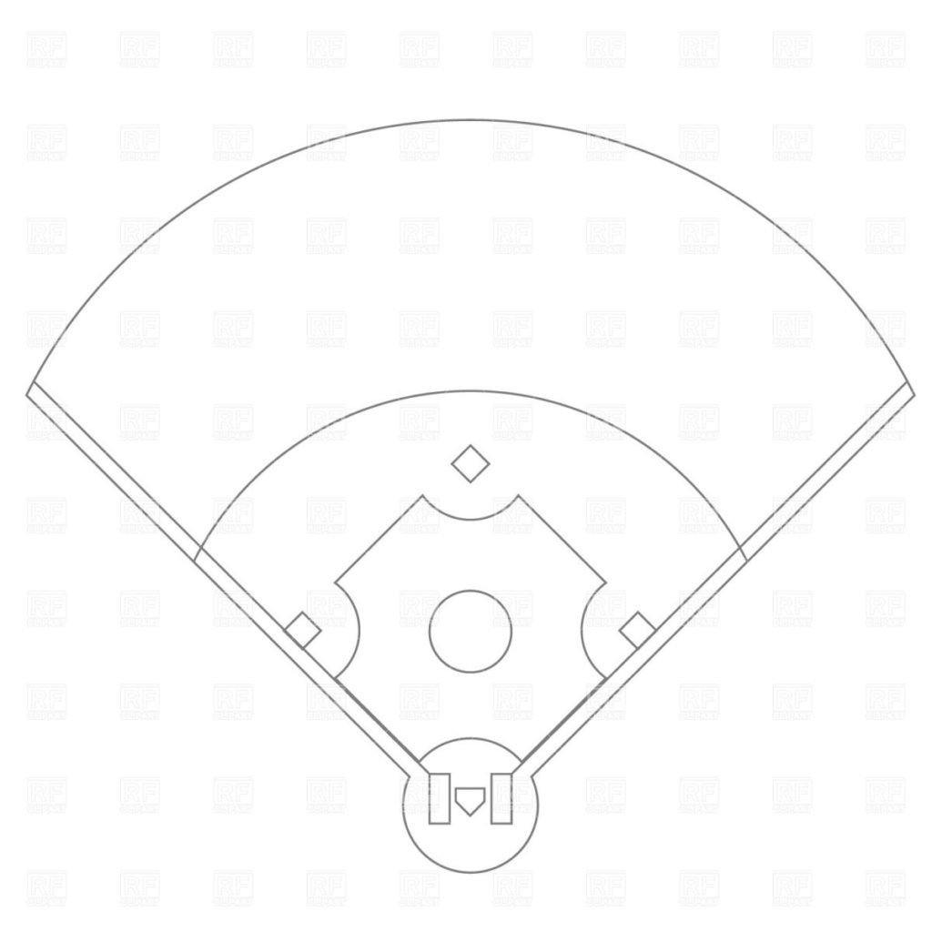 1024x1024 Nice Softball Field Layout