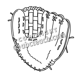 300x300 Glove Clipart Softball Glove