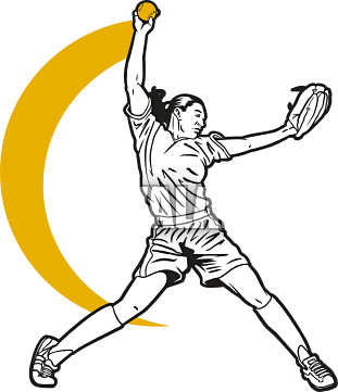 311x361 Softball Clip Art 5