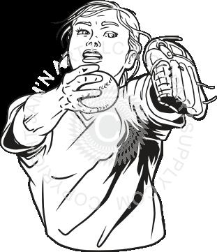 311x361 Girl Pitcher