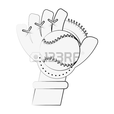450x450 Black And White Baseball Glove Stock Photos Amp Pictures. Royalty