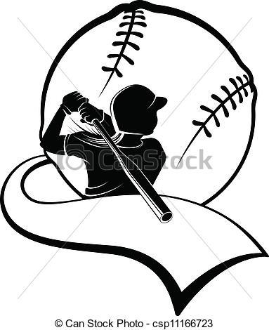 383x470 Softball Players Illustrations And Clipart. 1,757 Softball Players