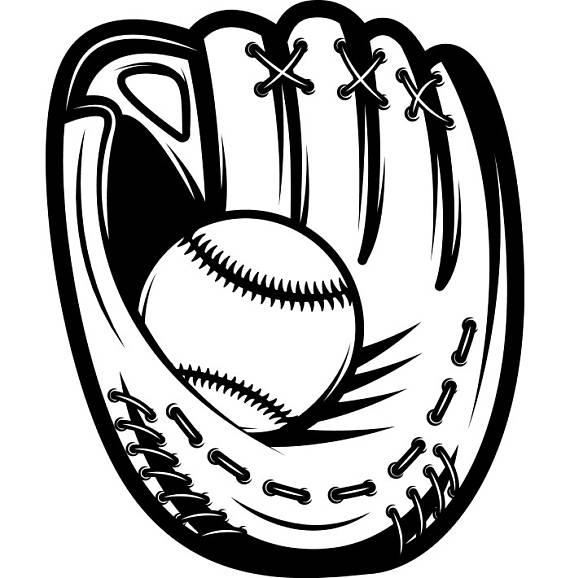 570x578 Baseball Glove