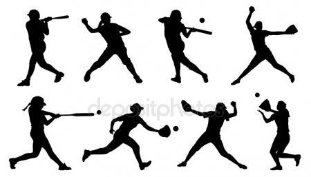 450x257 Softball Stock Vectors, Royalty Free Softball Illustrations