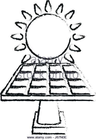 371x540 Cartoon Illustration Solar Energy Panel Stock Photos Amp Cartoon