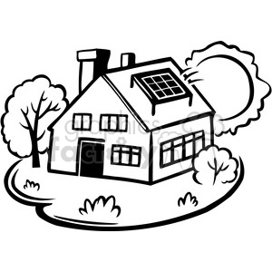 300x300 Royalty Free Eco Solar Power Equals Sustainability 386136 Vector