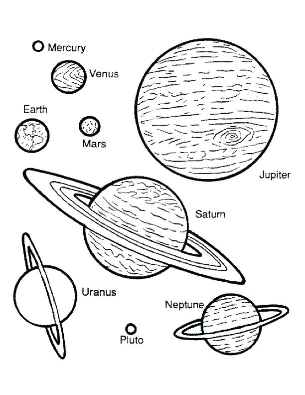 612x792 Planets Coloring Book As Well As Cute Cartoon Planets For Coloring