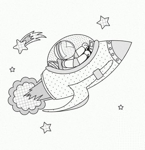490x506 Solar System Coloring Pages!