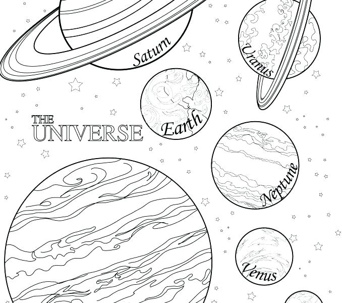 678x600 Planets Coloring Pages Planets Coloring Pages Together With Solar