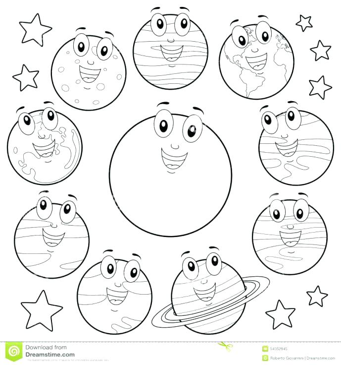 689x736 Solar System Coloring Pages 89 Together With Solar System Coloring