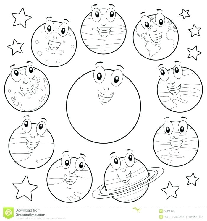 700x748 Solar System Coloring Book Planets Coloring Book Solar System