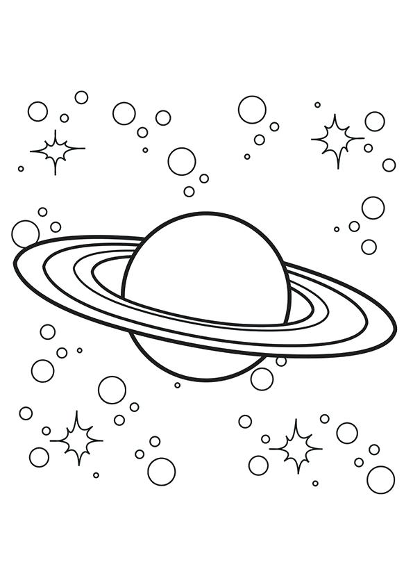 595x842 Exploring The Solar System Coloring Book