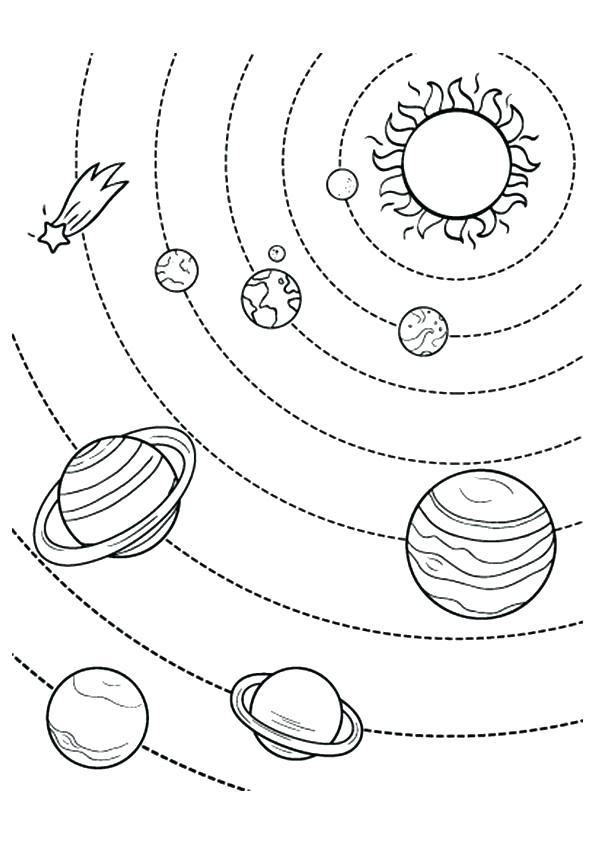 Solar system planets drawing at getdrawings free for personal 595x842 here are solar system coloring pages pictures coloring pages of ccuart Images