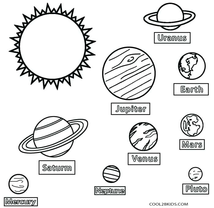 700x681 Solar System Coloring Book Plus Plas And Stars Of: Realistic Mercury Coloring Sheet At Alzheimers-prions.com