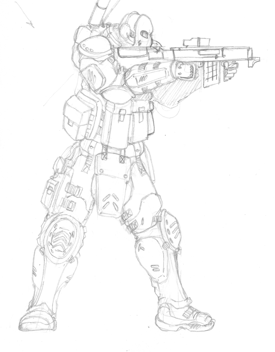 900x1149 Another Soldier Drawing By Themuffinkingxxx