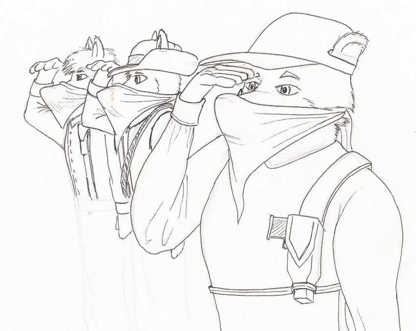 850x676 Saluting Guerrillas Wip By Steinwill
